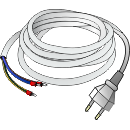 Cable to ballast