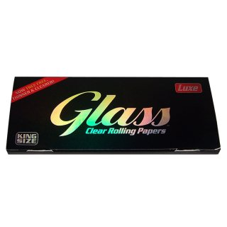Glass transparent, King Size Slim 108mm x 44mm 40 Blatt