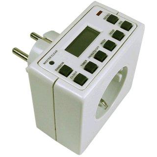 "Digitale Zeitschaltuhr ""DSU-Compact"", 3500W, ca. 7 x 7cm"