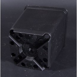 Flower pot, square, ca. 7 x 7 x 8 cm Vol. 0,27 Ltr