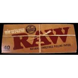 RAW. 40 leaves, King Size Supreme