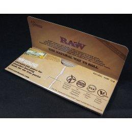 RAW Supreme, King Size Slim 108 x 44mm 40 Blatt ungebleicht