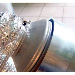 Reduzierstück aus Metall, Ø 120/200mm