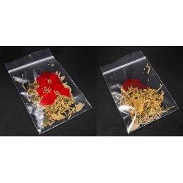 "Zip lock bag 60mm x 80mm, 50µ, ""Apotheke"" 100 pieces/package (O)"