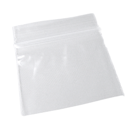 Zip lock bag 40mm x 40mm, 50µ, 100 pieces/package (B)