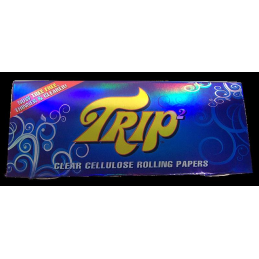 Trip transparent, King Size Slim 108mm x 44mm 40 Blatt