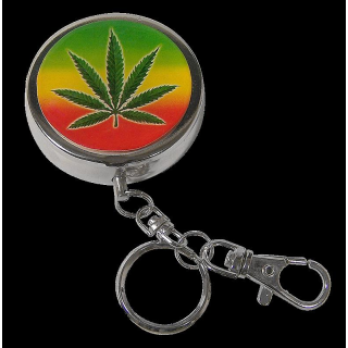 Pocket ashtray with sticker, sorted, � ca. 4.5cm