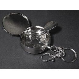 Pocket Aschenbecher mit Motiv, sortiert, Ø ca. 4,5cm