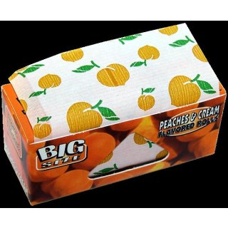 Juicy Jays Rolls Peaches & Cream, King Size Rolle 54mm x 5m