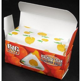 Juicy Jays Rolls Peaches & Cream, King Size Rolle...
