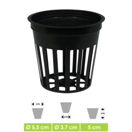GHE Net Pot round for hydroponics and aeroponic plant...