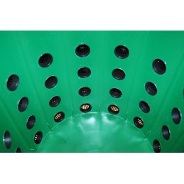 GHE Netztopf rund für Hydrokultur und aeroponische Pflanzenzucht, Ø 5,5cm Höhe 5cm