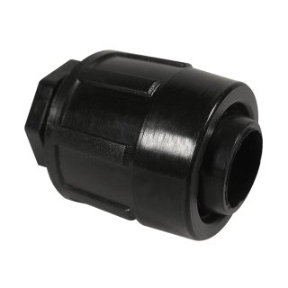PE-end cap for irrigation hose, for 20mm PE-tube