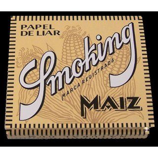 SMOKING Maiz, 49 leaves 78x44mm