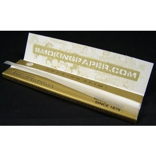 SMOKING Gold, King Size Slim 108 x 44mm 33 Blatt