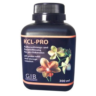 KCL-PRO pH probe refill and storage solution, 300ml
