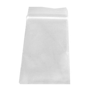 Zip lock bag 35mm x 55mm, 50µ, without printing, 100 bags/pack (Ö)