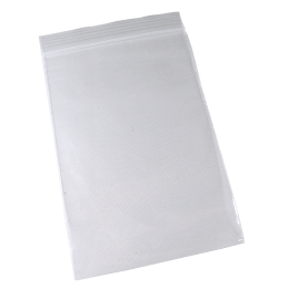 Zip lock bag 80mm x 120mm, 50�, no printing, 100/package (L)