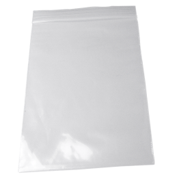Zip lock bag 100mm x 150mm, 50�, no printing, 100/package...