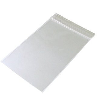 Zip lock bag 70mm x 100mm, 50µ, without printing, 100 pieces/package