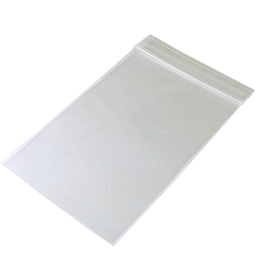 Zip lock bag 70mm x 100mm, 50µ, without printing,...