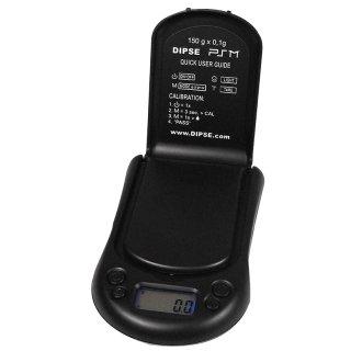Dipse PSM Digitalwaage, 150g / 0,1g, 10cm lang