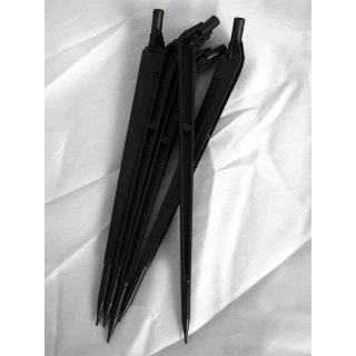PE drip pricker, black, for 3 mm capillary hose