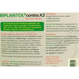 Biplantol contra X, spray solution, 5litres