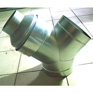Ducting reducer made of metal, Ø 16/25cm
