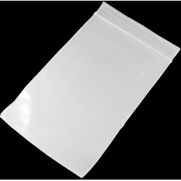 Zip bag 180 x 250mm, no printing, 100/package (P)