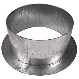 Wall flange made of metal, Ø 10cm