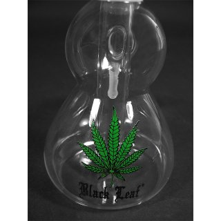 Black Leaf precooler, 18/8 cut, height ca. 18cm