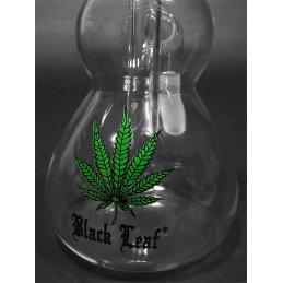 Black Leaf precooler, 14/5 cut, height ca. 16cm