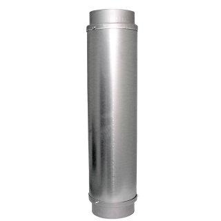 Schalldämpfer aus Stahl, 125er Anschlüsse Länge ca. 60cm