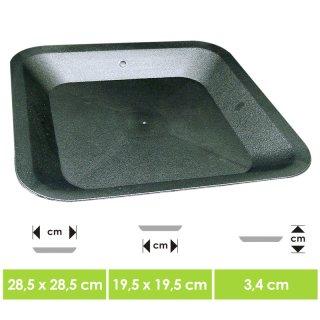 Pot saucer for 22x22x26cm pots