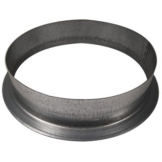 Wall flange made of metal, Ø 16cm
