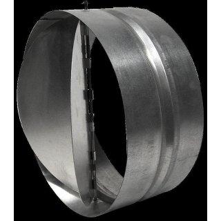 Rückstauklappe aus Metall, Ø 200mm