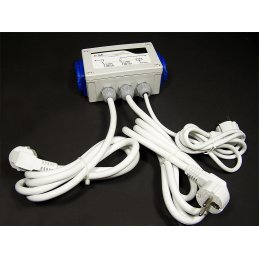 GSE Relay Box for 8 x 600W lamps