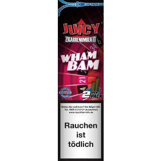 Juicy Blunt, Wham Bam, 2 pieces