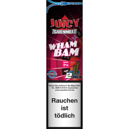 Juicy Blunt, Wham Bam Water Melon, 2 St�ck