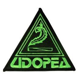 UDOPEA - Aufnäher , Seitenlänge ca. 11,5cm