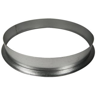 Wall flange made of metal, Ø 25cm