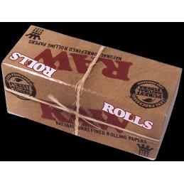 RAW Rolls, King Size Rolle 54mm x 3m ungebleicht