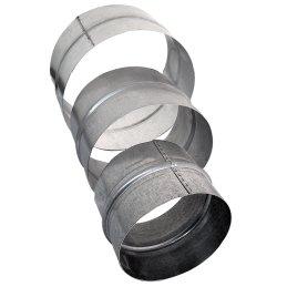 Steckverbindung aus Metall, Ø 100mm