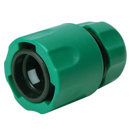 "PVC Quick connector for 1.27cm (1/2"") water hose"