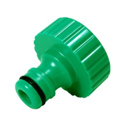 "Tap adapter for 2.54cm (1"") thread, PVC"