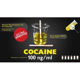 Urine-Test Cocaine sensitive 100ng/ml