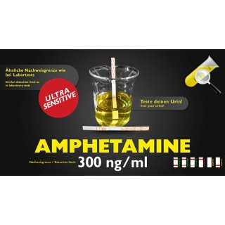 Urine-Test Amphetamine sensitive 300ng/ml