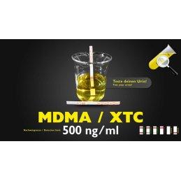 Urine-Test MDMA / XTC sensitive 500ng/ml