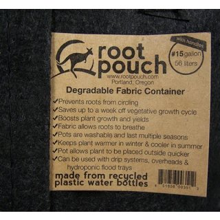 Top Root Pouch, 56 Liter, 260g, black